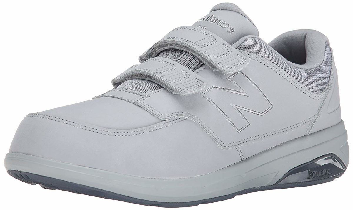 Men Walk Securely With The New Balance 813